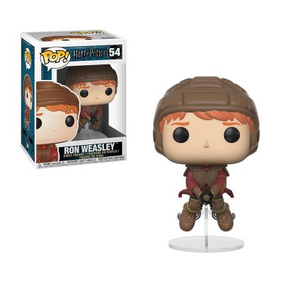 Figura Funko POP! Vinyl 54 Ron Weasley c/escoba Harry Potter