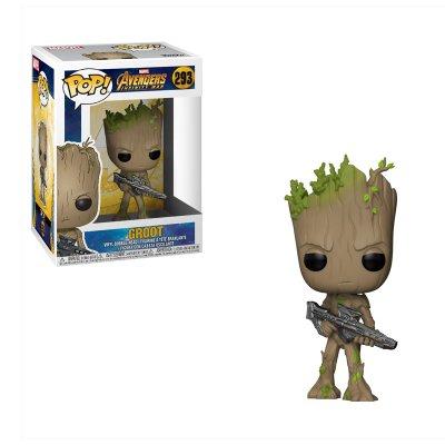 Figura Funko POP! Vynil Bobble 293 Los Vengadores Infinity War Groot