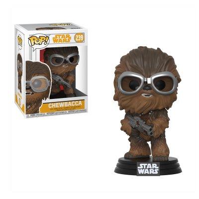 Figura Funko POP! Vynil Bobble 239 Star Wars Han Solo Chewbacca