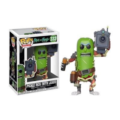 Figura Funko POP! Vynil 332 Pickle Rick c/láser Rick y Morty