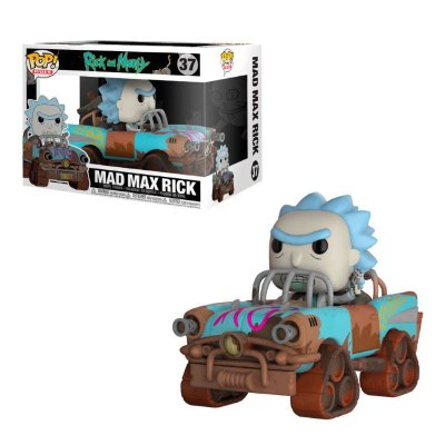 Figura Funko POP! Rides Vynil 37 Mad Max Rick Rick & Morty