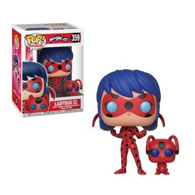 Figura Funko POP! Vynil 359 Ladybug c/ Tikki Miraculous