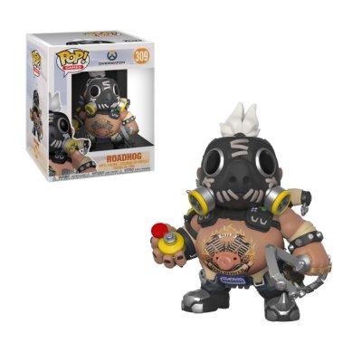 "Figura Funko POP! Vynil 309 Roadhog Overwatch 6"" 15cm"