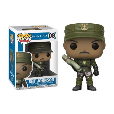 Figura Funko POP! Vynil 08 Sgt. Johnson Halo