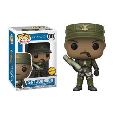 Figura Funko POP! Vynil 08 Sgt. Johnson Halo (Ed.Chase)