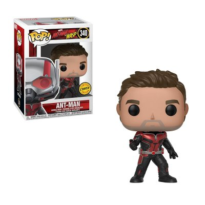 Figura Funko POP! Vynil Bobble 340 Marvel Ant-man Ant-Man and the Wasp (Ed. Chase)