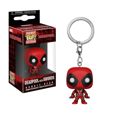 Llavero Funko Pocket POP! Keychain Deadpool c/espadas Deadpool
