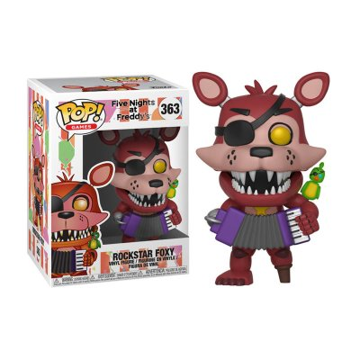 Figura Funko POP! Vynil 363 FNAF Rockstar Foxy