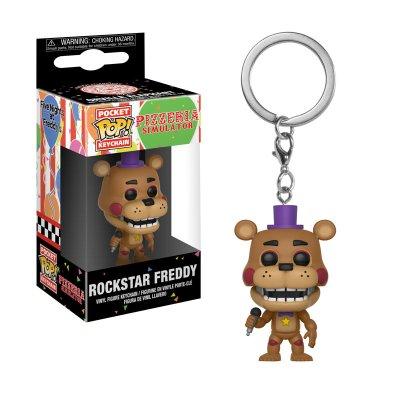 Llavero Funko Pocket POP! Keychain FNAF Rockstar Freddy
