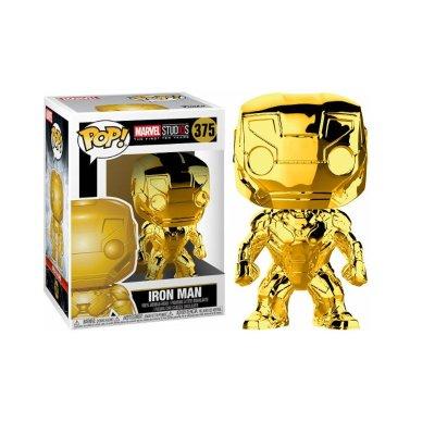 Figura Funko POP! Vynil Bobble 375 Iron Man Marvel (serie Chrome)