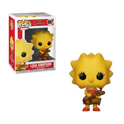 Figura Funko POP! Vynil 497 Lisa Simpson c/saxofón The Simpsons