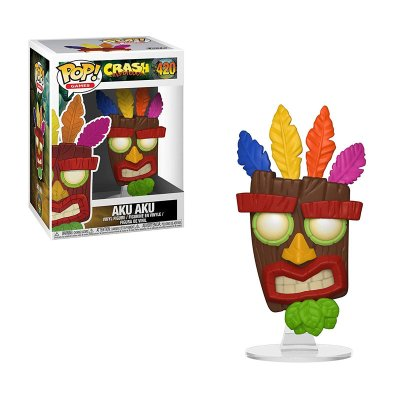 Wholesaler of Figura Funko POP! Vynil 420 Crash Bandicoot Aku Aku