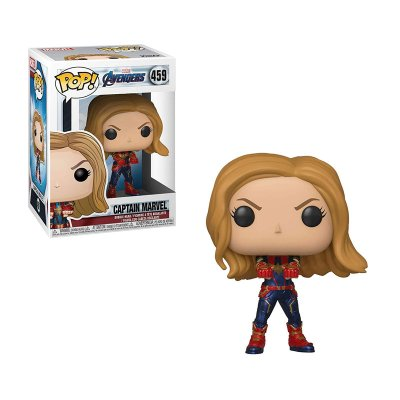 Figura Funko POP! Vinyl Bobble 459 Captain Marvel Los Vengadores Endgame