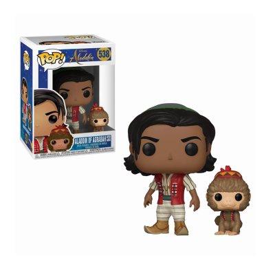 Figura Funko POP! Vynil 538 Aladdin c/Abu Aladdin