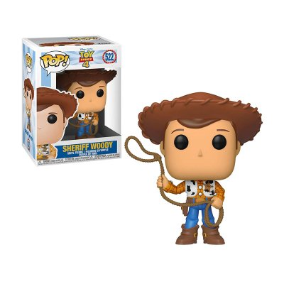 Figura Funko POP! Vynil 522 Sheriff Woody Toy Story 4
