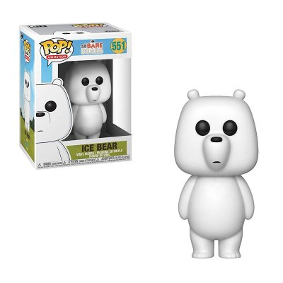 Figura Funko POP! Vinyl 551 Ice Bear We Bare Bears