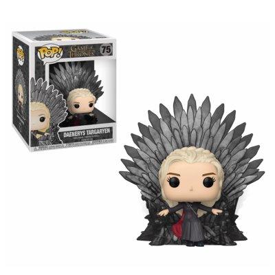 Figura Funko POP! 75 Juego de Tronos Daenerys en Trono de Hierro