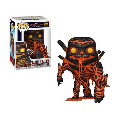 Wholesaler of Figura Funko POP! Vynil Bobble 474 Molten Man Spiderman Far From Home