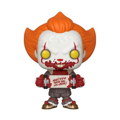 Figura Funko POP! Vynil Pennywise c/patinete It 2