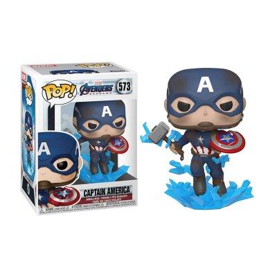 Figura Funko POP! Vinyl Bobble 573 Capitán América Los Vengadores Endgame