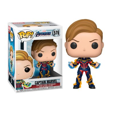 Figura Funko POP! Vinyl Bobble 576 Captain Marvel Los Vengadores Endgame