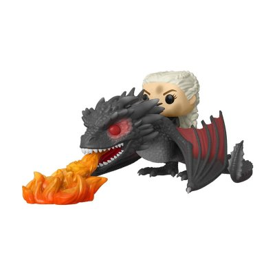 Figura Funko POP! Rides Vynil 68 Juego de Tronos Daenerys & Fiery Drogon