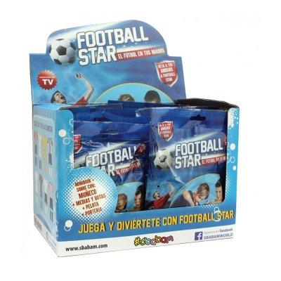 Expositor 12 sobres Football Star
