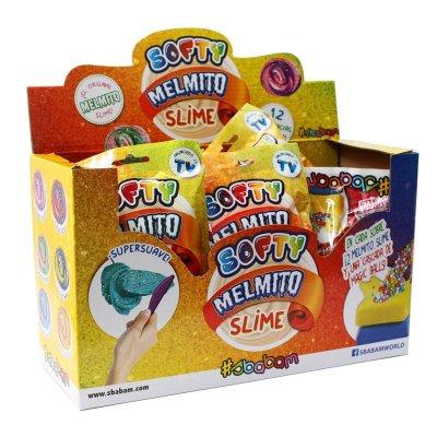 Expositor 12 sobres Softy Melmito Slime