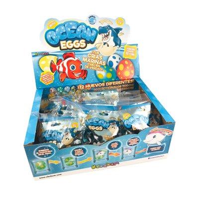 Expositor Criaturas Marinas Ocean Eggs