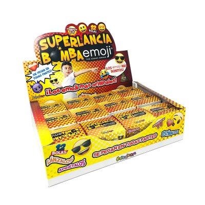 Expositor bolas Superlancia Bomba Emoji