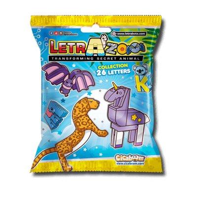 Wholesaler of Sobres LetrAzoo Transforming Secret Animal (versión italiana)