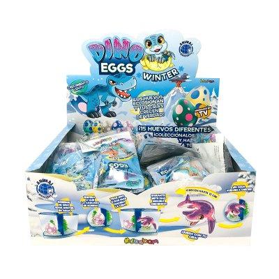 Expositor Dino Eggs Winter (versión italiana)
