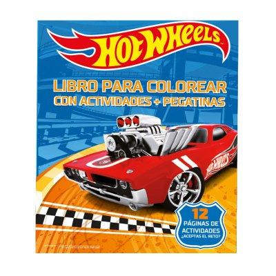 Wholesaler of Libros Colorea Hot Wheels Deluxe 21x28cm