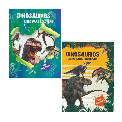 Libros para colorear Dinosaurios