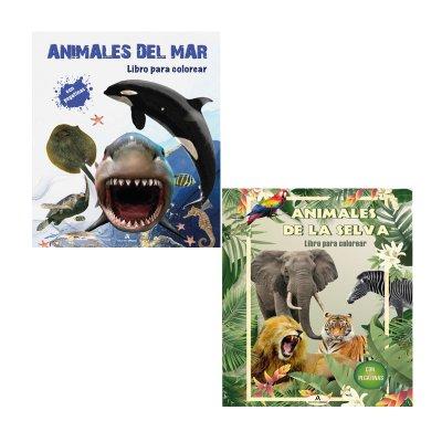 Libros para colorear Animales