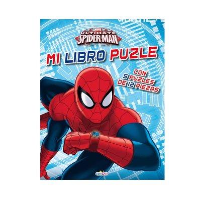 Mi Libro Puzle Spiderman 22x28cm 10 páginas