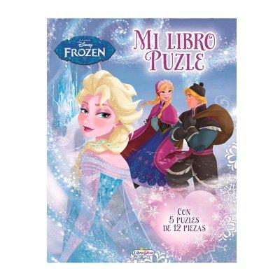 Mi Libro Puzle Frozen 22x28cm 10 páginas