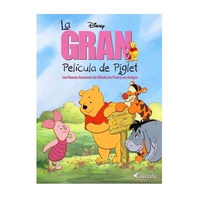 Libro La gran película de Piglet Disney
