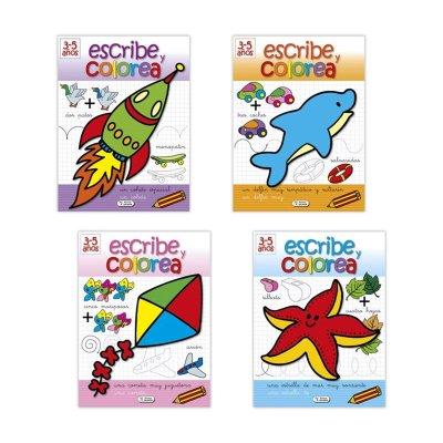 Wholesaler of Libro Escribe Colorea 3-5años