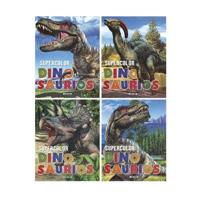 Wholesaler of Libros Supercolor Dinosaurios