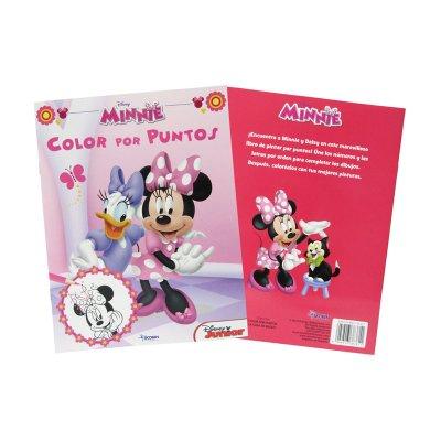 Wholesaler of Libros Color por puntos Minnie Disney 21x28cm