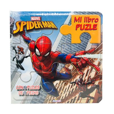 Mi Libro Puzle Spiderman Marvel 20x20cm 12 páginas