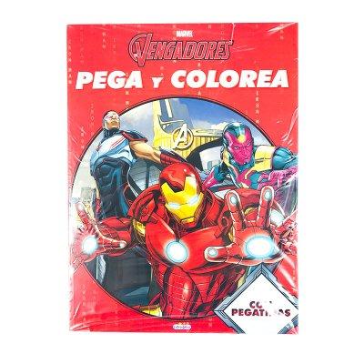 Wholesaler of Libros Pega Colorea Los Vengadores Marvel 21x28cm 12 pgnas 4 adhes