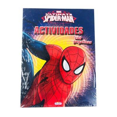 Libros Actividades Spiderman 21x28cm 48 páginas 4 adhesivas