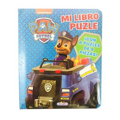 Mi Libro Puzzle Paw Patrol Chase 16x20cm 12 páginas