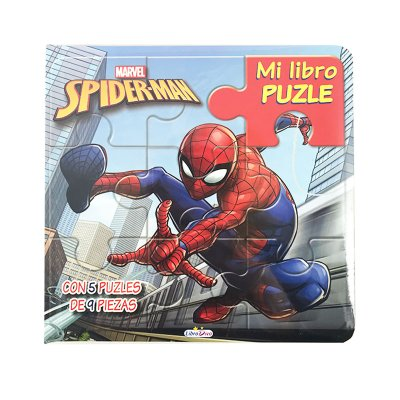 Wholesaler of Mi Libro Puzle Spiderman 20x20cm 12 páginas