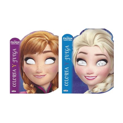 Wholesaler of Libros colorea y juega Frozen