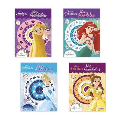 Wholesaler of Mis mandalas colores con pegatinas Princesas Disney