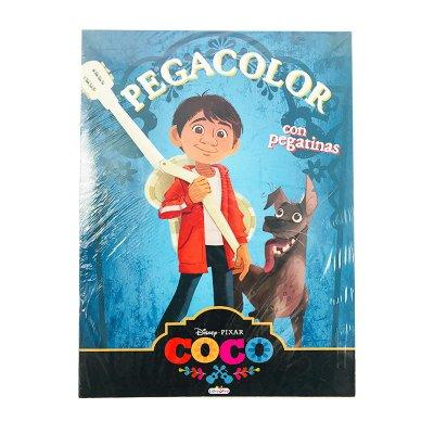 Wholesaler of Libros Super Pegacolor Coco Disney 21x29cm 40 páginas
