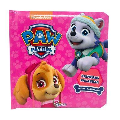 Libro Primeras palabras Paw Patrol Skye & Everest